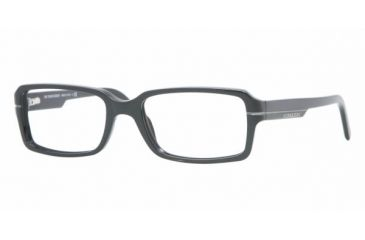 Burberry BE2078 #3140 - Top Dark Gray Frame, Demo Lens Lenses