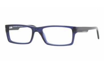 Burberry BE2079 #3092 - Dark Blue Transparent Frame
