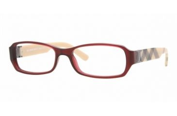 Burberry BE2082A #3014 - Oxblood Frame, Demo Lens Lenses