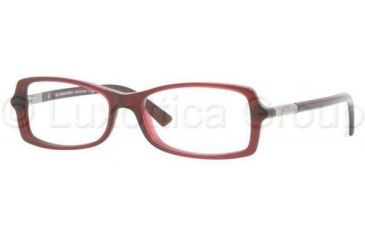 Burberry BE2083 Bifocal Prescription Eyeglasses 3014-5415 - Oxblood