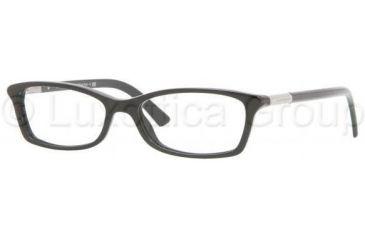 Burberry BE2084 Single Vision Prescription Eyewear 3001-5015 - Black