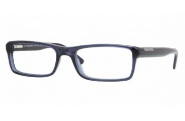 Burberry BE2085 #3225 - Transparent Azure Frame, Demo Lens Lenses