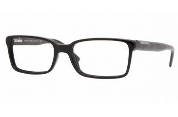 Burberry BE2086 #3001 - Shiny Black Frame, Demo Lens Lenses