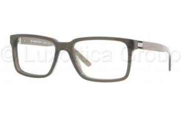 Burberry BE2090 Single Vision Prescription Eyewear 3227-5317 - Striped Gray