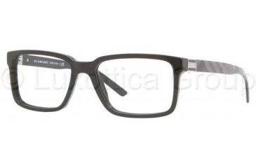 Burberry BE2090 Single Vision Prescription Eyewear 3241-5317 - Black