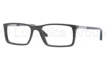 Burberry BE2092 Single Vision Prescription Eyewear 3001-5217 - Shiny Black