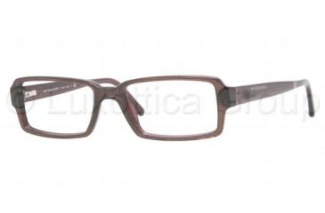 Burberry BE2093A Eyeglass Frames 3224-5117 - Striped Violet Frame