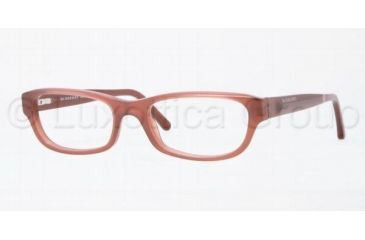Burberry BE2096 Eyeglass Frames 3257-5317 - Opal Pink