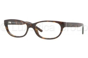 Burberry BE2106 Progressive Prescription Eyeglasses 3002-5115 - Dark Havana Frame