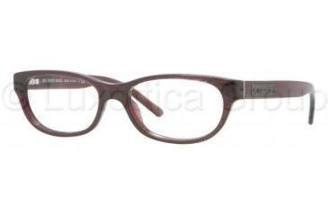 Burberry BE2106 Bifocal Prescription Eyeglasses 3224-5115 - Striped Violet Frame