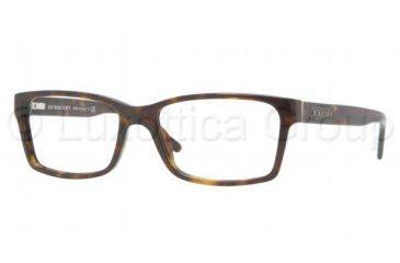 Burberry BE2108 Eyeglass Frames 3002-5216 - Dark Havana Frame