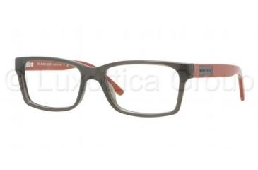 Burberry BE2108 Eyeglass Frames 3301-5216 - Striped Gray Demo Lens Frame