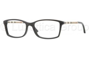 Burberry BE2120 Eyeglass Frames 3001-5316 - Shiny Black Frame