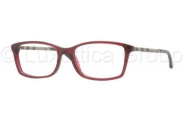 Burberry BE2120 Eyeglass Frames 3014-5116 - Plum Frame