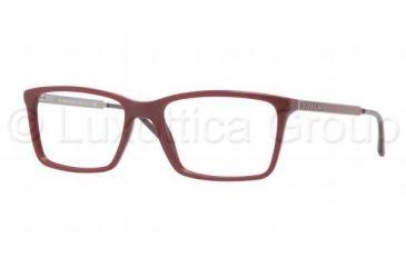Burberry BE2126 Single Vision Prescription Eyeglasses 3317-5217 - Bordeaux Frame