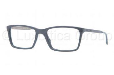 Burberry BE2126 Single Vision Prescription Eyeglasses 3355-5217 - Blue Frame