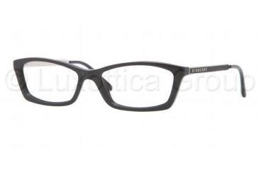 Burberry BE2129 Eyeglass Frames 3001-5115 - Black Frame