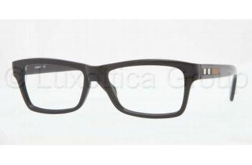 Burberry BE2135 Single Vision Prescription Eyeglasses 3001-5316 - Black Frame