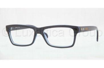 Burberry BE2135 Single Vision Prescription Eyeglasses 3350-5316 - Dark Steel Frame
