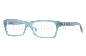 Burberry BE2135 Single Vision Prescription Eyeglasses 3365-5516 - Turquoise Frame