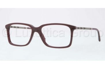 Burberry BE2137 Bifocal Prescription Eyeglasses 3265-5516 - Dark Violet Frame
