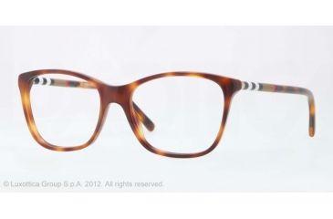 Burberry BE2141 Bifocal Prescription Eyeglasses 3316-51 - Havana Frame, Demo Lens Lenses