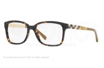 Burberry BE2143 Bifocal Prescription Eyeglasses 3002-53 - Dark Havana Frame