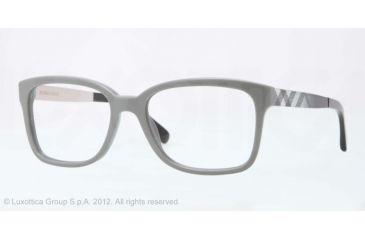 Burberry BE2143 Bifocal Prescription Eyeglasses 3371-53 - Gray Frame, Demo Lens Lenses