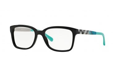 58c1c81db9d7f Burberry BE2143 Eyeglass Frames 3001-53 - Black Frame