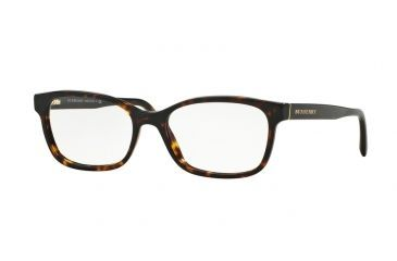3a752387016 Burberry BE2201 Eyeglass Frames 3002-52 - Dark Havana Frame