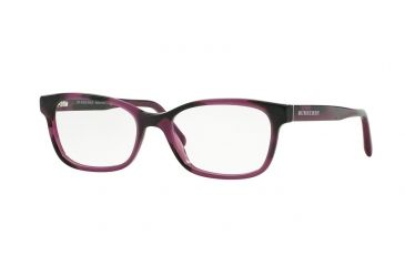 7f6a16ae6b0 Burberry BE2201 Eyeglass Frames 3519-52 - Spotted Violet Frame