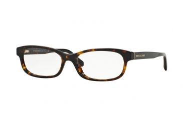 af69cd33a161 Burberry BE2202 Eyeglass Frames 3002-54 - Drak Havana Frame