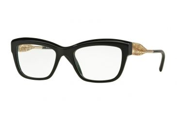 4478874cfd64 Burberry BE2211 Eyeglass Frames 3001-51 - Black Frame
