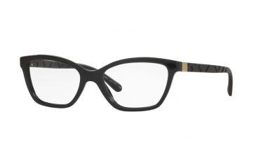 77ff7320df58 Burberry BE2221F Eyeglass Frames 3001-53 - Black Frame