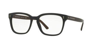 f843aadb3b8a Burberry BE2225 Eyeglass Frames 3590-53 - Matte Black Frame