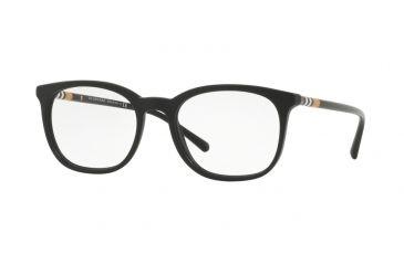 39eab145e4b Burberry BE2266 Eyeglass Frames 3464-52 - Matte Black Frame