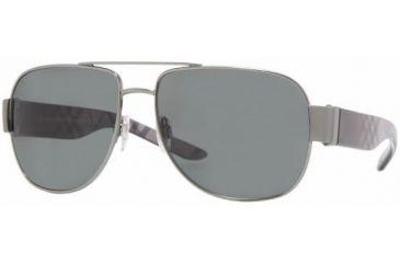 Burberry BE3042 #100387 - Gunmetal Frame, Gray Lenses