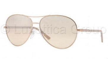 55d2acc7a71d Burberry BE3053 Sunglasses 11293D-5713 - Rose Gold Beige Mirror Silver Grad