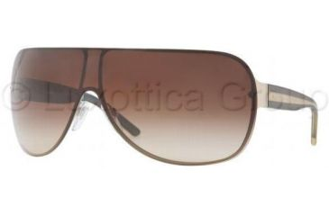 Burberry BE3057 Sunglasses 100213-0137 - Pale Gold Frame, Brown Gradient Lenses