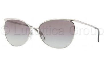 Burberry BE3059 Sunglasses 100511-5816 - Silver Frame, Gray Gradient Lenses