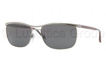 Burberry BE3065 Bifocal Prescription Sunglasses BE3065-100387-5817 - Lens Diameter 58 mm, Frame Color Gunmetal