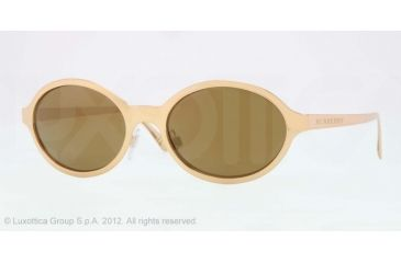 Burberry BE3069 Single Vision Prescription Sunglasses BE3069-10175A-52 - Lens Diameter 52 mm, Lens Diameter 52 mm, Frame Color Gold