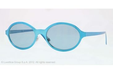 Burberry BE3069 Single Vision Prescription Sunglasses BE3069-117680-52 - Lens Diameter 52 mm, Lens Diameter 52 mm, Frame Color Blue