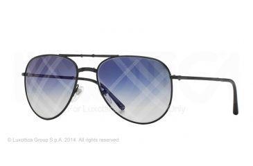 Burberry BE3071 Single Vision Prescription Sunglasses BE3071-1001B2-57 - Lens Diameter 57 mm, Frame Color Black
