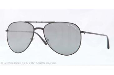 Burberry BE3071 Single Vision Prescription Sunglasses BE3071-10076G-57 - Lens Diameter 57 mm, Lens Diameter 57 mm, Frame Color Matte Black