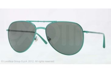 Burberry BE3071 Single Vision Prescription Sunglasses BE3071-117771-57 - Lens Diameter 57 mm, Lens Diameter 57 mm, Frame Color Green