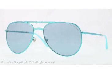 Burberry BE3071 Single Vision Prescription Sunglasses BE3071-117980-57 - Lens Diameter 57 mm, Lens Diameter 57 mm, Frame Color Turquoise