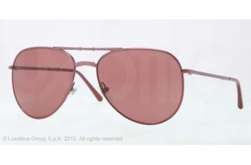 Burberry BE3071 Single Vision Prescription Sunglasses BE3071-118675-57 - Lens Diameter 57 mm, Lens Diameter 57 mm, Frame Color Bordeaux