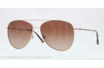 Burberry BE3072 Sonnenbrille Gold 114513 57mm MWXBYh