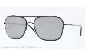 Burberry BE3075 Sunglasses 10016G-59 - Black Frame, Grey Mirror Silver Lenses